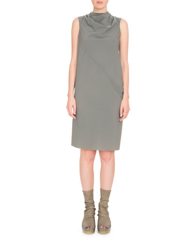 Bonnie Draped Knee-Length Dress
