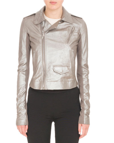 Classic Stooges Metallic Leather Jacket