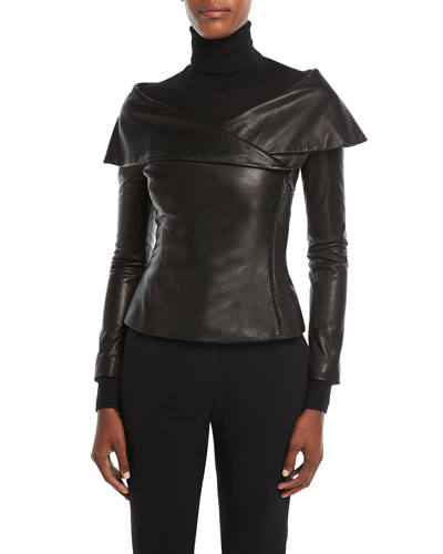 Maxine Leather Jacket