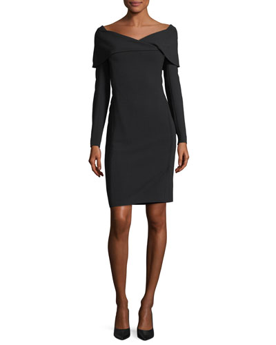 Maxine Portrait-Collar Dress