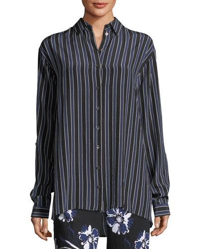 Pajama Stripe Shirt