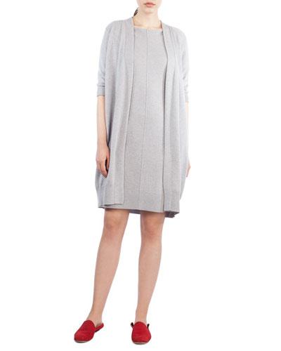 Knit Cashmere Coat Cardigan