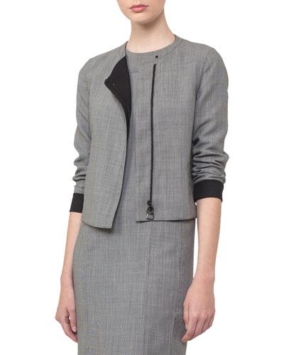 Reversible Zip-Front Jacket