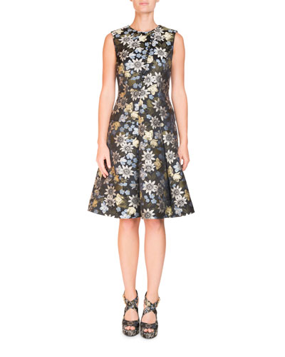 Yesim Sleeveless A-Line Dress