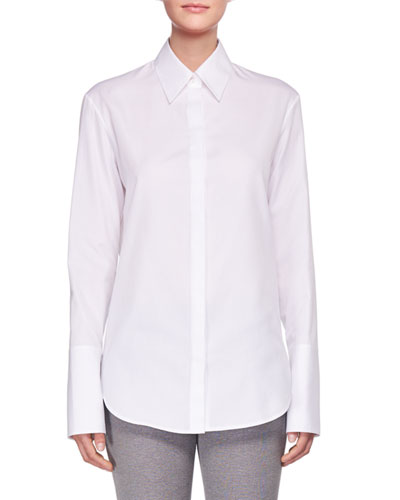 Joshua Long-Sleeve Poplin Shirt