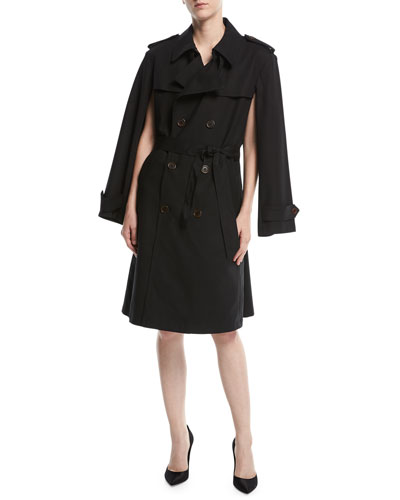 Canvas Editor Trench Coat