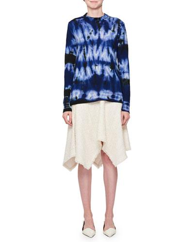 Crewneck Tie-Dye Sweater