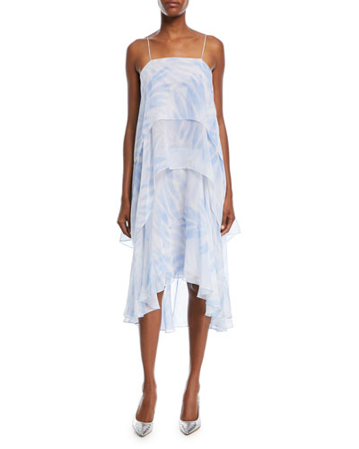 Tiered Slip Dress