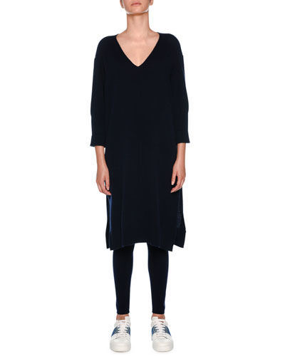 Cashmere Loungewear Kaftan Dress