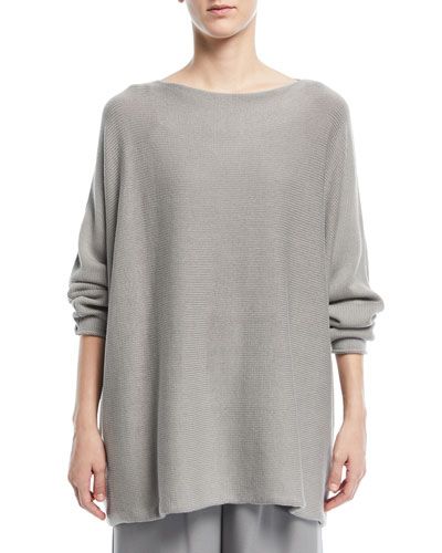 Sideways Knit Sweater