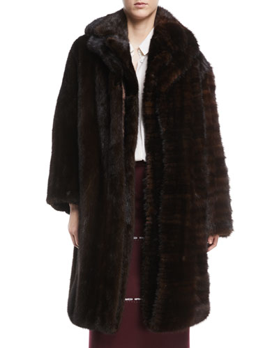 Milanesa Reworked Mink Fur Coat