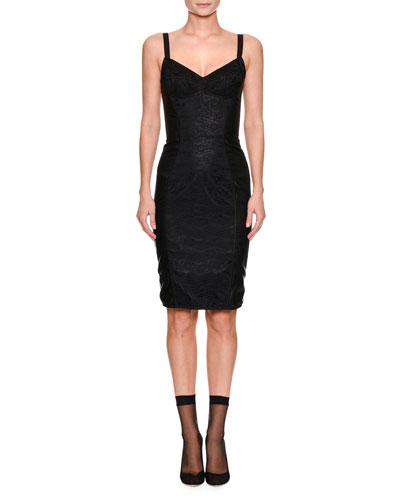 Sleeveless Corset Lace Dress