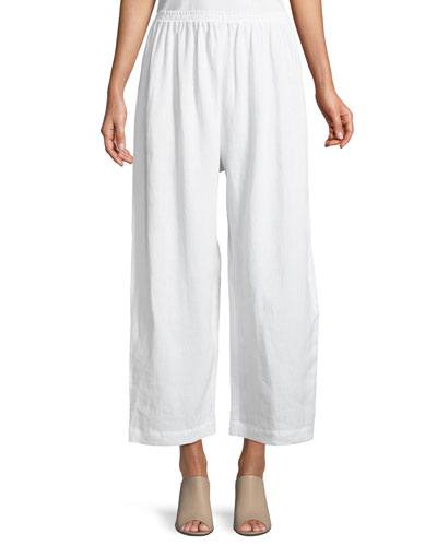 Cropped Japanese Trousers