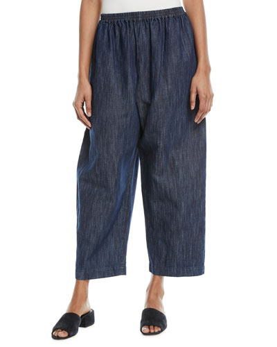 Japanese Cropped Trousers