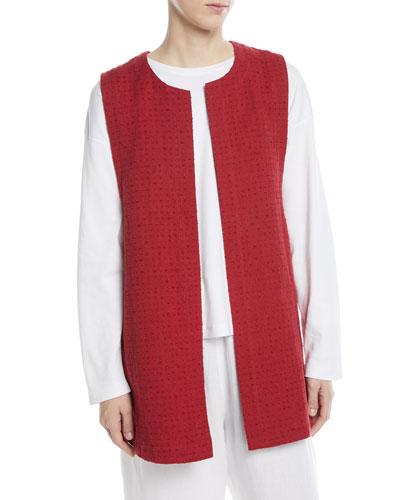 Imperial Linen-Blend Waist Coat