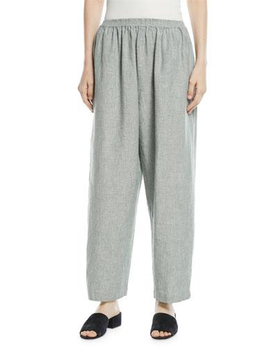 Side-Slit Japanese Trousers