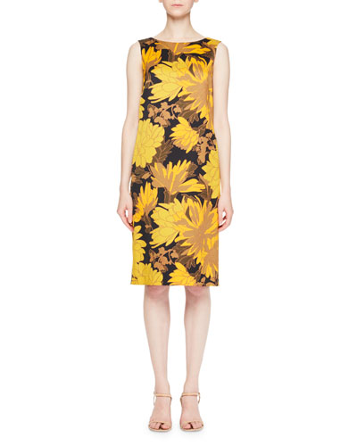 Debeos Floral Shift Dress