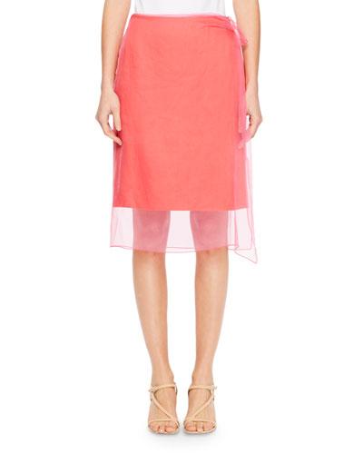 Sagix Layered Organza Skirt