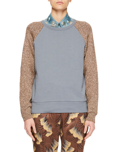 Handford Metallic Raglan Sweater