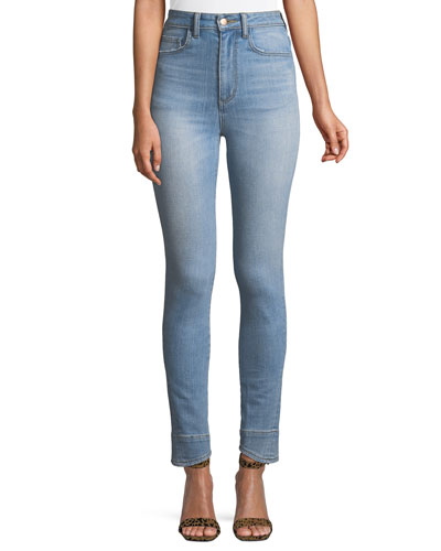 Beth High-Waist Skinny Curved Seam Jeans