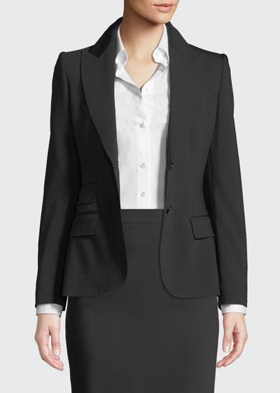Turlington Two-Button Jacket