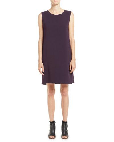 Hani Sleeveless Silk Shift Dress