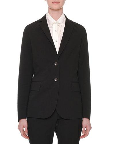 Two-Button Cotton Jacket