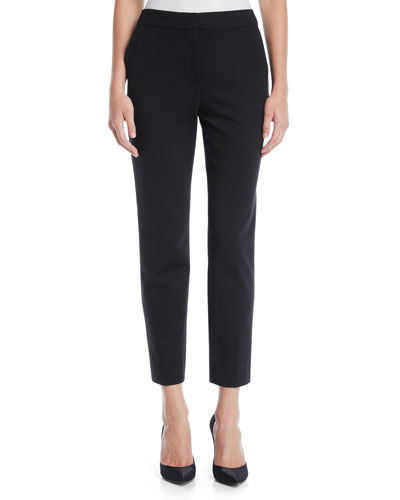 Pegno Cropped Tapered-Leg Pants