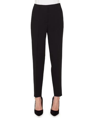 Florin High-Rise Conical-Leg Wool Pants