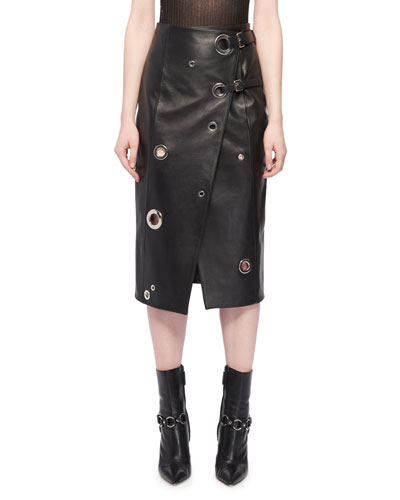301d5e06d0 Designer Leather Skirt | bergdorfgoodman.com