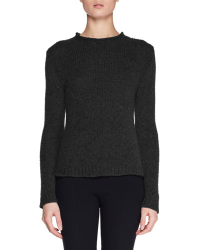 Droi Crewneck Long-Sleeve Cashmere-Blend Sweater 4651ff099f25
