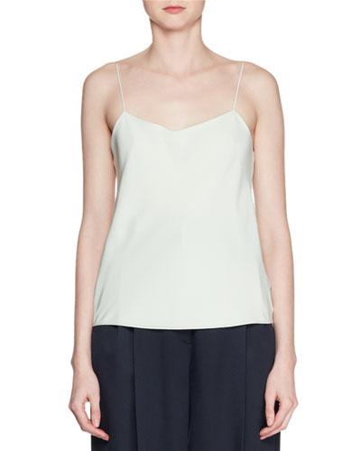 Biggins V-Neck Silk Camisole