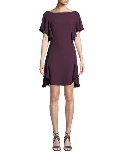 2cf32b9f4247 Silk Silhouette Cocktail Dress