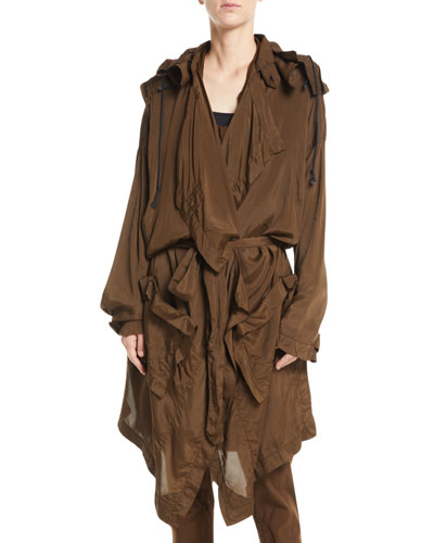 ef513dcfc45ab Detachable Hood Parachute Relaxed Trench Coat