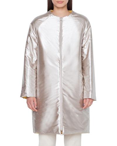 Reversible Metallic Coat