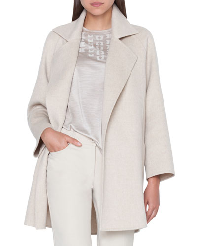 Bessy Cashmere Double-Face Coat