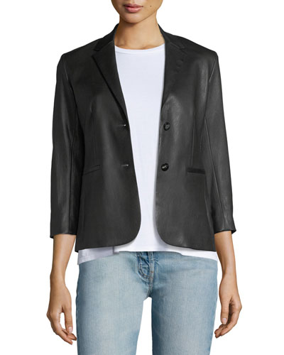 Nolbon Leather Jacket