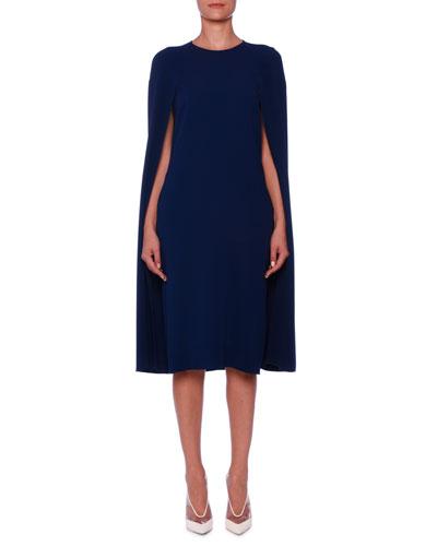 Cape-Back Cady Sheath Dress