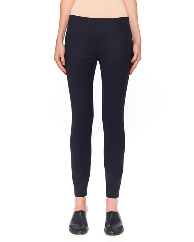 Kosso Seamed Stretch-Wool Leggings