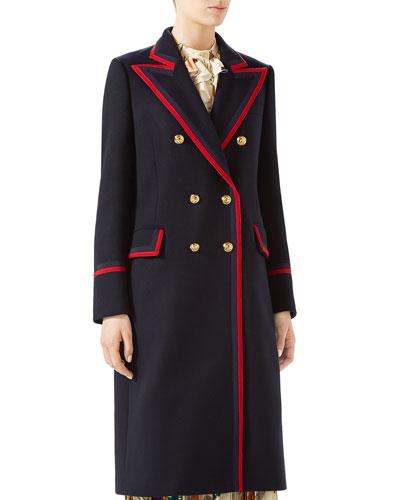 Military Wool-Cloth Coat