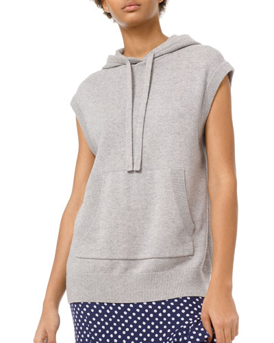 Cotton-Cashmere Pullover Hoodie