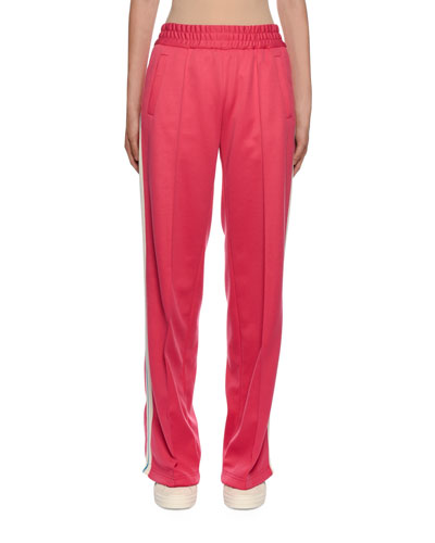 Side-Striped Gym Track Pants