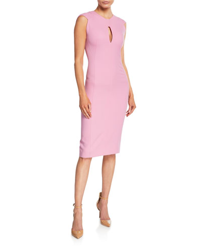 6029edb85f9 Sleeveless Crewneck Cutout Sheath Dress Quick Look. Narciso Rodriguez