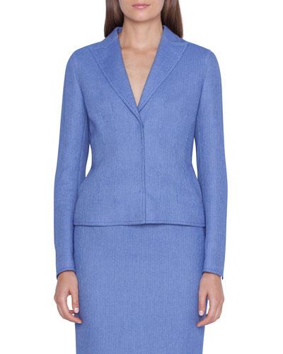 Velia Pique Blazer Jacket