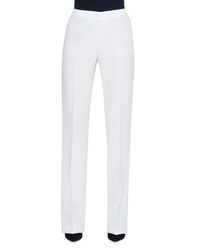 Carl Wool Double-Face Pants