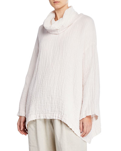 Double-Sided Linen Monk's Top
