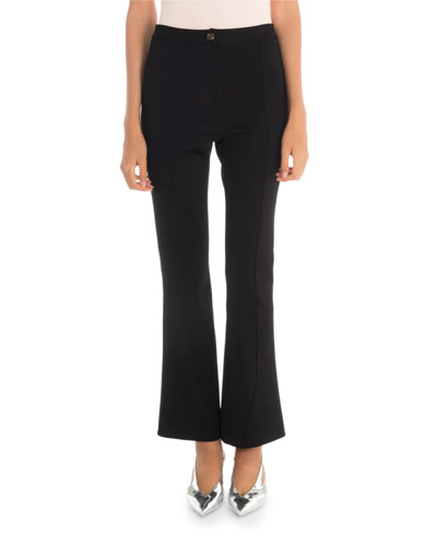 Punto Milano Cropped Flared Trousers