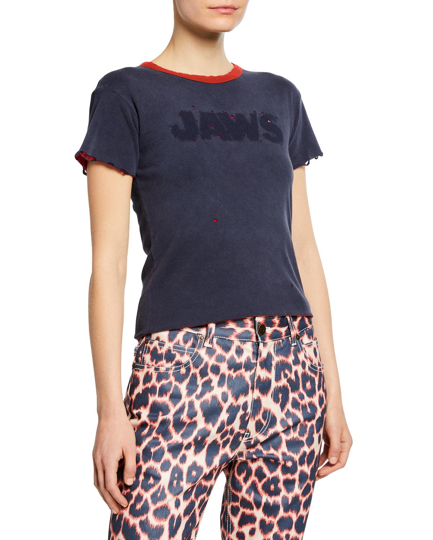 Calvin Klein 205w39nyc T-shirts SHORT-SLEEVE JAWS T-SHIRT