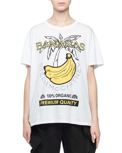 Short-Sleeve Banana Graphic T-Shirt