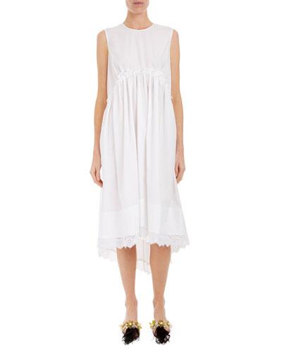 Sleeveless Empire Waist Dress